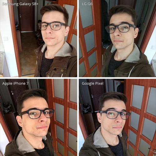 Đọ camera selfie trên Galaxy S8 +, LG G6, iPhone 7 và Google Pixel - 1