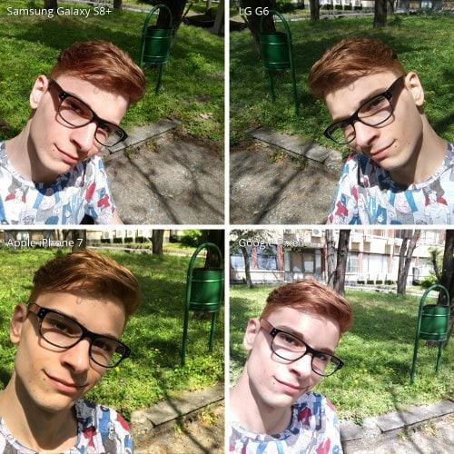 Đọ camera selfie trên Galaxy S8 +, LG G6, iPhone 7 và Google Pixel - 4