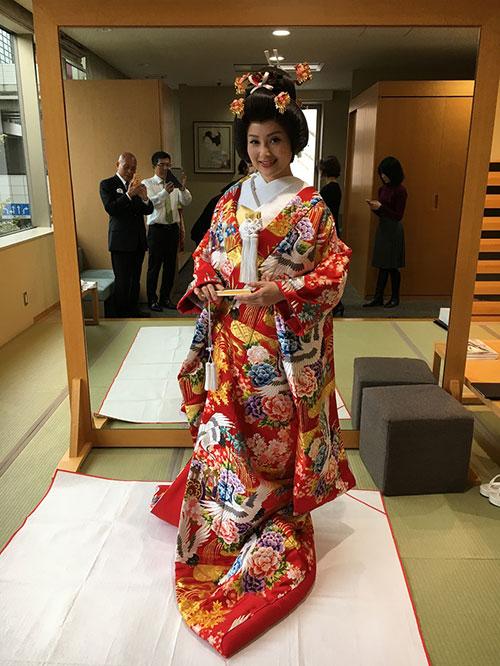 Quỳnh Anh, Phương Mỹ Chi diện kimono sexy hơn gái Nhật - 7