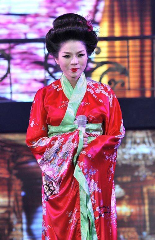 Quỳnh Anh, Phương Mỹ Chi diện kimono sexy hơn gái Nhật - 8