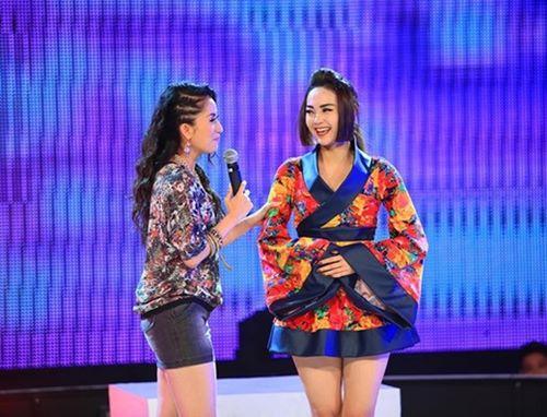 Quỳnh Anh, Phương Mỹ Chi diện kimono sexy hơn gái Nhật - 10
