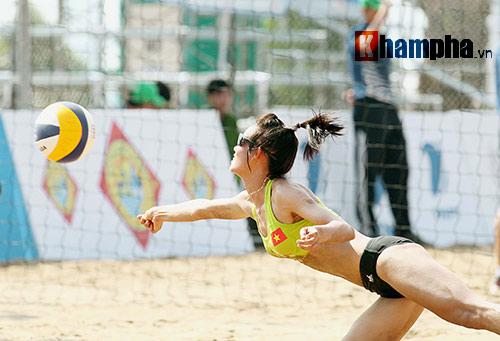 """""""Bóng hồng"""" châu Á khoe dáng chuẩn tại giải bóng chuyền bãi biển - 2"""