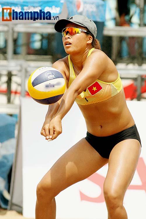 """""""Bóng hồng"""" châu Á khoe dáng chuẩn tại giải bóng chuyền bãi biển - 3"""