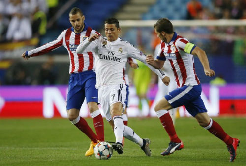 "Real Madrid - Atletico: ""Phóng hỏa"" Bernabeu - 1"