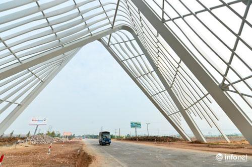 Cận cảnh cổng chào gần 200 tỷ của tỉnh Quảng Ninh - 10