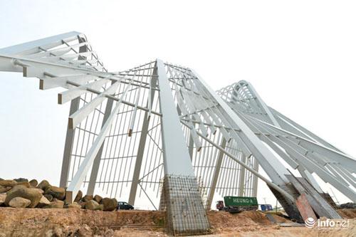 Cận cảnh cổng chào gần 200 tỷ của tỉnh Quảng Ninh - 6