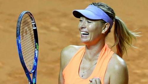 Sharapova sướng như bà hoàng: Ngồi khểnh chờ Roland Garros - 1