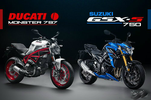 "Suzuki GSX-S750 ""ăn thịt"" đối thủ Ducati Monster 797? - 1"