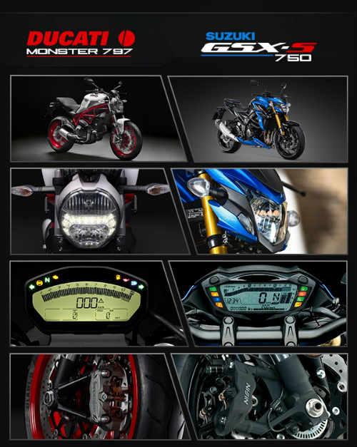 "Suzuki GSX-S750 ""ăn thịt"" đối thủ Ducati Monster 797? - 13"