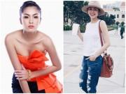 """Thời trang - Loạt quần áo khiến Hà Tăng lộ thân hình """"cò hương"""""""