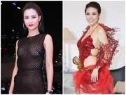 """Đông Nhi, Pha Lê sexy """"bất thành"""", lọt top """"thảm họa"""" tháng 4"""