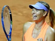 Thể thao - Sharapova sướng như bà hoàng: Ngồi khểnh chờ Roland Garros