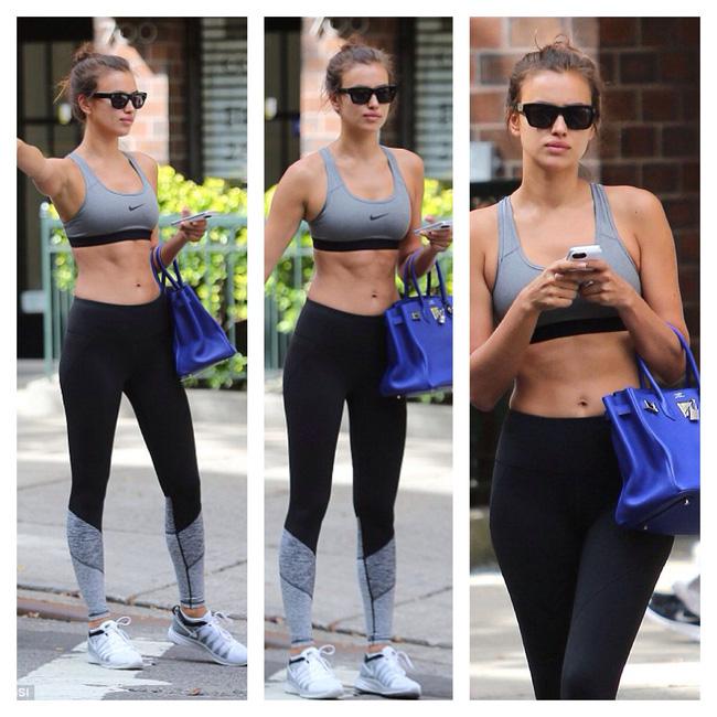 Điều gì khiến  Irina Shayk xách túi Hermes vào tận phòng gym? - 9