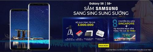 """""""Điểm mặt"""" bộ quà trị giá 3 triệu khi mua samsung galaxy s8/s8+ - 4"""