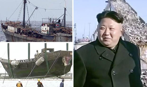 """Hàng loạt """"tàu ma"""" Triều Tiên trôi dạt vào vùng biển Nhật - 1"""