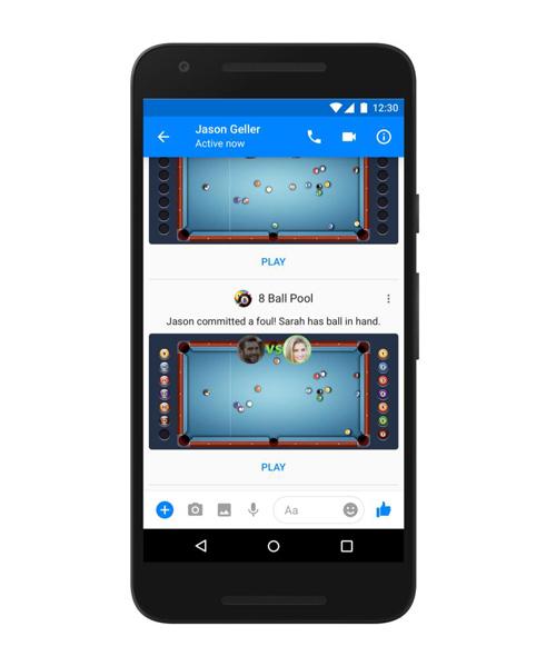 Facbook tung ứng dụng Game trên Messenger - 2