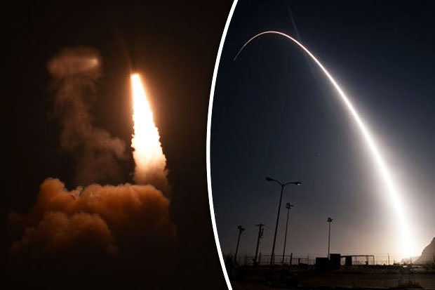 Mỹ thử tên lửa đạn đạo khổng lồ, khoe khả năng hạt nhân - 2