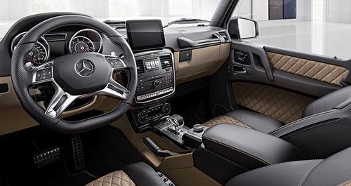 Mercedes thêm 2 bản đặc biệt cho G-Class - 4