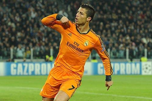 """""""Nhà vua"""" Cúp C1 Ronaldo: Chúa tể của những màn ăn mừng - 6"""