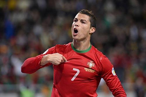 """""""Nhà vua"""" Cúp C1 Ronaldo: Chúa tể của những màn ăn mừng - 5"""