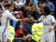 Bóng đá - Bàn thắng đẹp V35 La Liga: Ronaldo - Marcelo song kiếm hợp bích