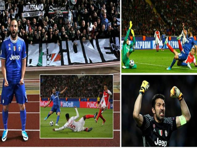 Góc chiến thuật Monaco - Juventus: Monaco hóa