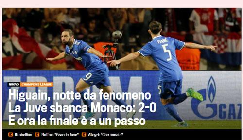 """Báo chí thế giới: Juve """"dạy dỗ"""" Monaco, fan tin sẽ hạ gục Real - 6"""