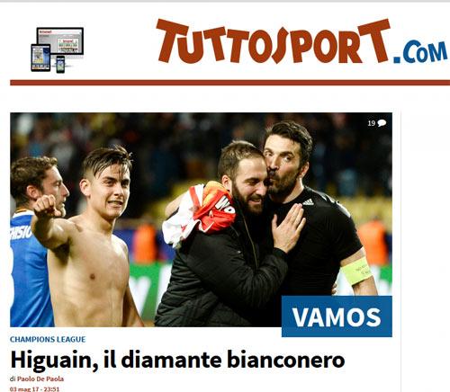 """Báo chí thế giới: Juve """"dạy dỗ"""" Monaco, fan tin sẽ hạ gục Real - 7"""
