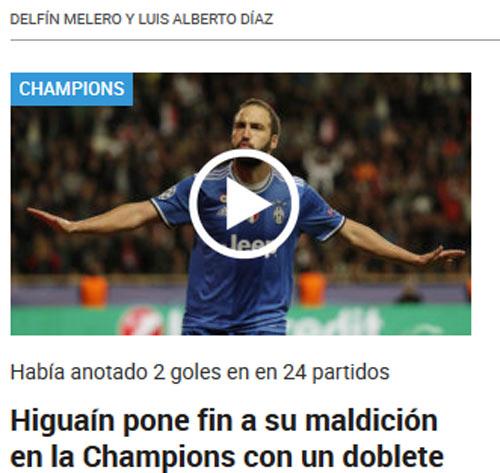 """Báo chí thế giới: Juve """"dạy dỗ"""" Monaco, fan tin sẽ hạ gục Real - 8"""