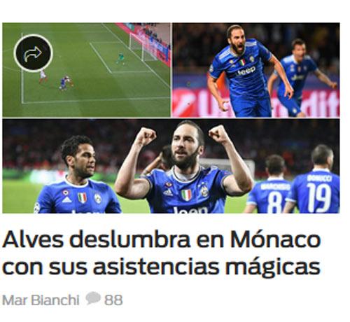 """Báo chí thế giới: Juve """"dạy dỗ"""" Monaco, fan tin sẽ hạ gục Real - 9"""