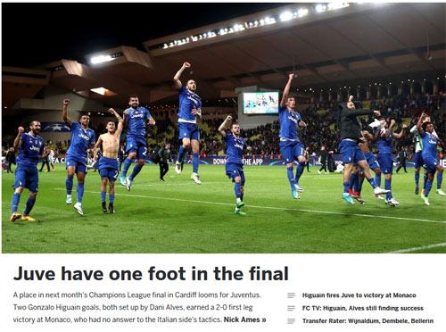 """Báo chí thế giới: Juve """"dạy dỗ"""" Monaco, fan tin sẽ hạ gục Real - 10"""