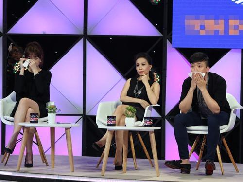Trấn Thành bật khóc bên Hari Won trên truyền hình - 2