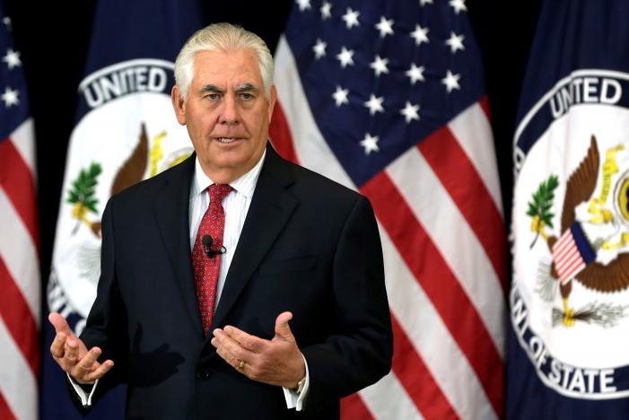 """Mỹ """"bóng gió"""" trừng phạt TQ nếu không ngăn Triều Tiên - 1"""