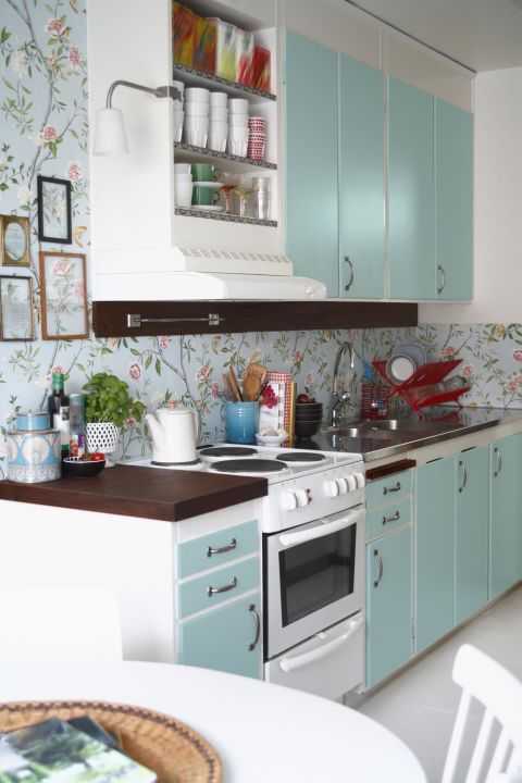 Gợi ý trang trí nhà ngập sắc xanh cho mùa hè dịu mát - 4