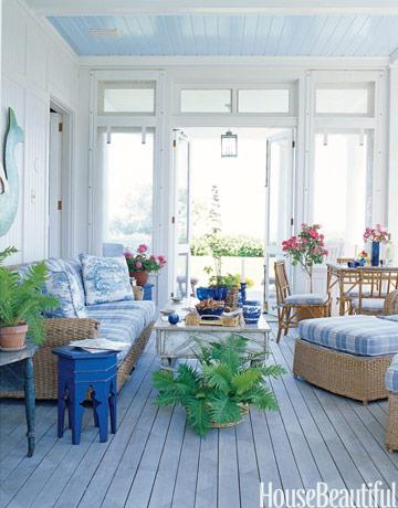 Gợi ý trang trí nhà ngập sắc xanh cho mùa hè dịu mát - 8