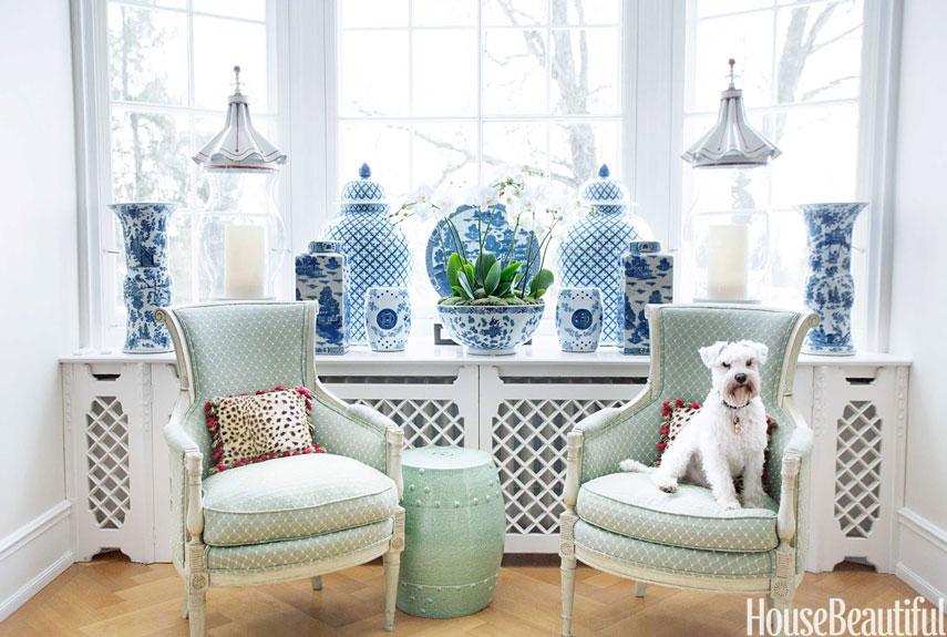 Gợi ý trang trí nhà ngập sắc xanh cho mùa hè dịu mát - 10