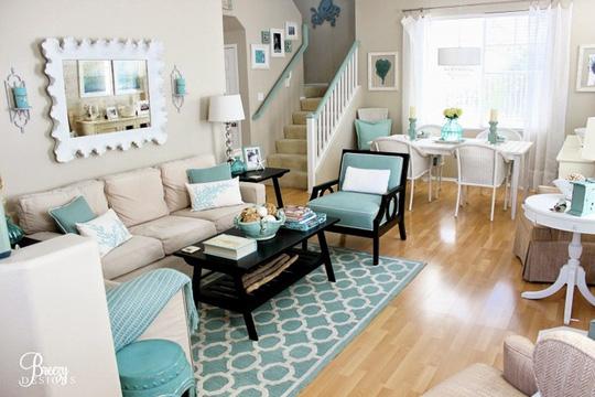 Gợi ý trang trí nhà ngập sắc xanh cho mùa hè dịu mát - 12