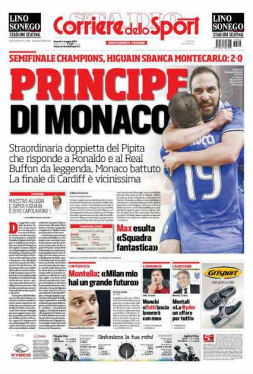 """Báo chí thế giới: Juve """"dạy dỗ"""" Monaco, fan tin sẽ hạ gục Real - 1"""