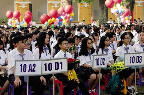 Căng thẳng suất vào lớp 10 trường công ở Hà Nội - 1