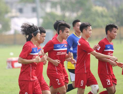 Công Phượng, Tuấn Anh động viên đàn em U20 Việt Nam - 4
