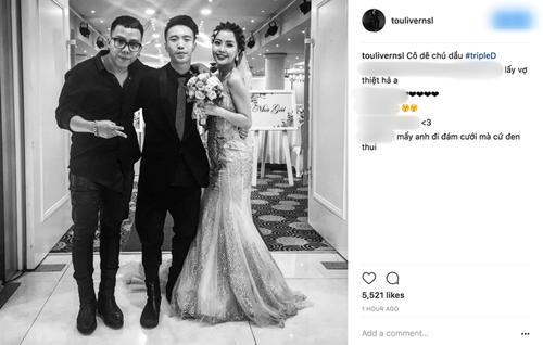 """Dàn sao hùng hậu dự lễ cưới """"phù thủy âm nhạc"""" của Sơn Tùng - 1"""