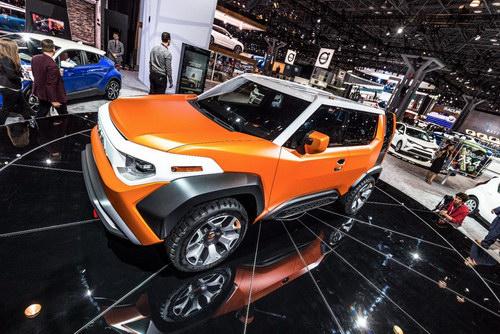Toyota FT-4X: SUV thế hệ mới cho giới trẻ - 2
