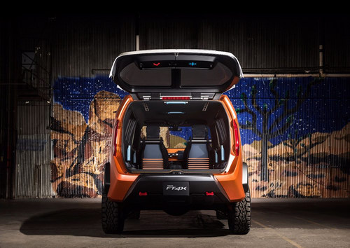Toyota FT-4X: SUV thế hệ mới cho giới trẻ - 3