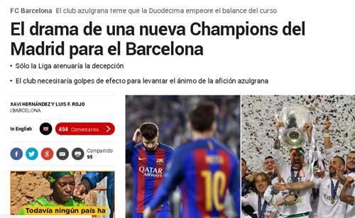 """Real hướng tới """"Duodecima"""", Barca run rẩy chờ sụp đổ - 1"""