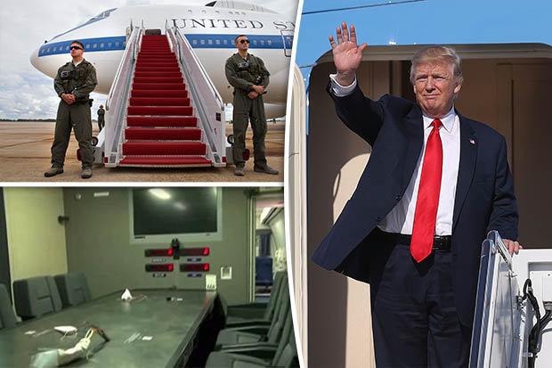 """""""Hầm trú ẩn trên trời"""" giúp Trump tránh bom hạt nhân - 1"""