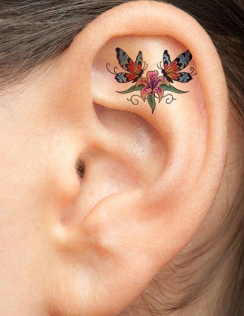 """Xỏ khuyên xưa rồi, xăm vành tai mới là mốt """"ăn chơi"""" cực chất - 8"""