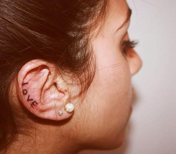 """Xỏ khuyên xưa rồi, xăm vành tai mới là mốt """"ăn chơi"""" cực chất - 9"""