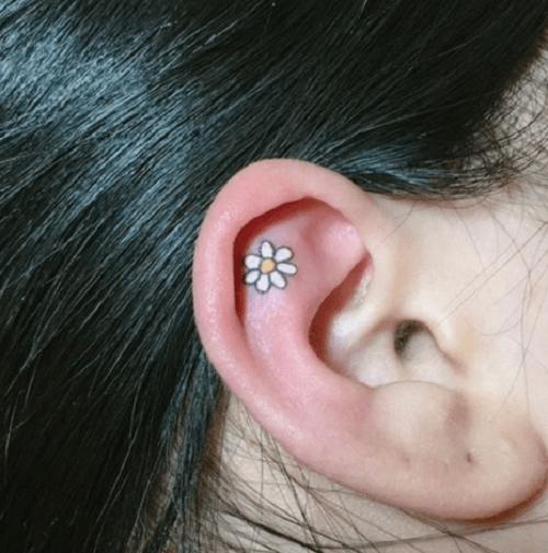 """Xỏ khuyên xưa rồi, xăm vành tai mới là mốt """"ăn chơi"""" cực chất - 10"""