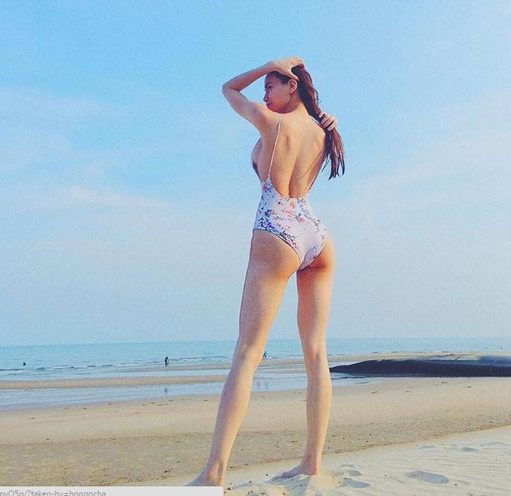 Hot nhất ngày: Hà Hồ tung ảnh bikini lộ đùi thon, chân nuột - 5