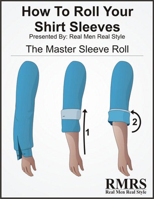 5 kiểu xắn tay áo sơ mi siêu dễ lại đẹp tinh tế anh em nên thử - 1